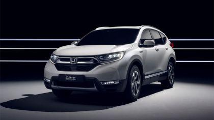 2017 Honda CR-V Hybrid concept 7