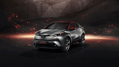2017 Toyota C-HR Hy-Power concept 1