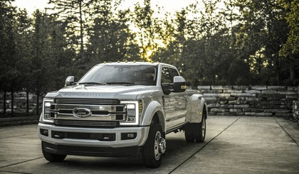 2018 Ford F-350 Super Duty Limited 5