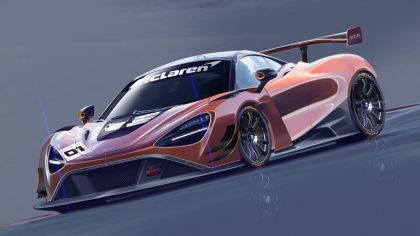 2019 McLaren 720S GT3 8