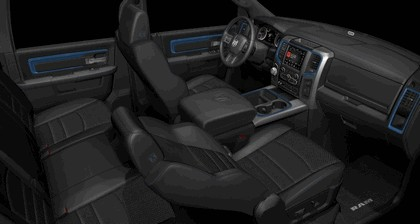 2018 Ram 1500 Hydro Blue Sport 6
