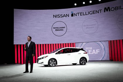 2018 Nissan Leaf - USA version 84