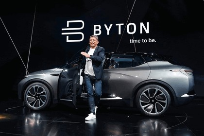2018 Byton SUV concept 34