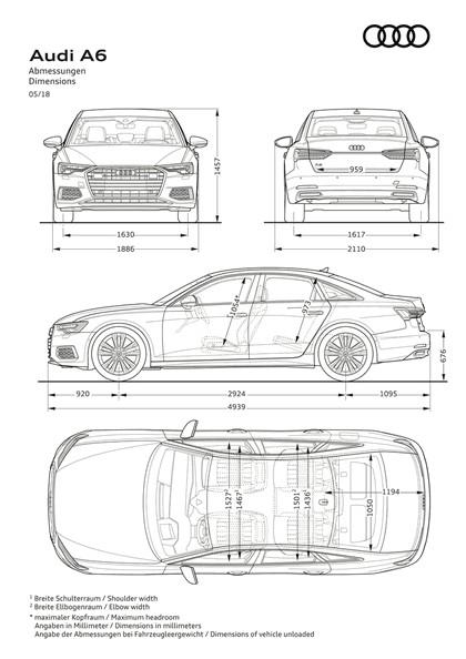 2018 Audi A6 Limousine 121