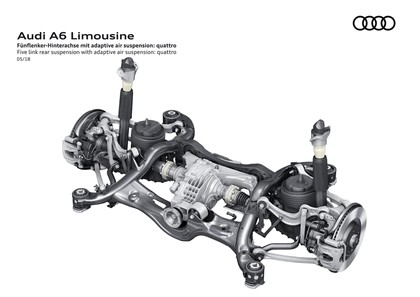 2018 Audi A6 Limousine 156