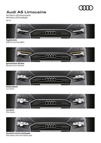 2018 Audi A6 Limousine 169