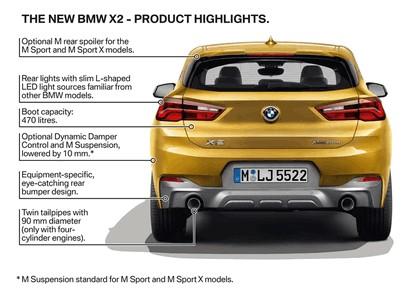 2018 BMW X2 xDrive20d M Sport X - UK version 18