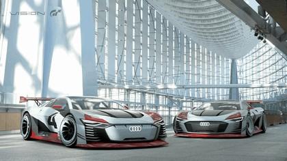 2018 Audi e-tron Vision Gran Turismo 5