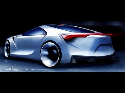2007 Toyota FT-HS concept 70