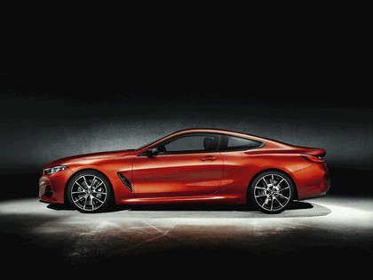 2018 BMW 8er ( G15 ) coupé with optional carbon package 2