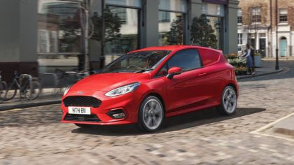 2018 Ford Fiesta Van - UK version 1