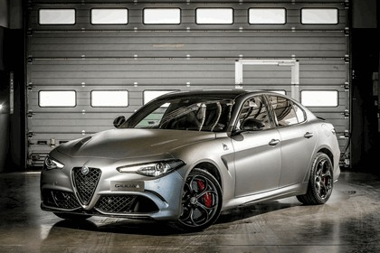 2018 Alfa Romeo Giulia Quadrifoglio Nring 1