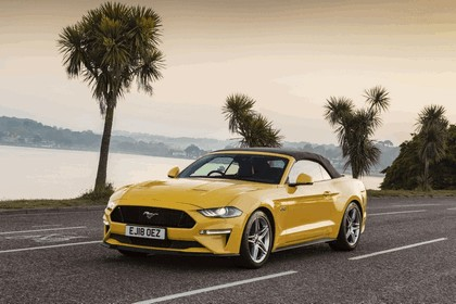 2018 Ford Mustang convertible - UK version 5