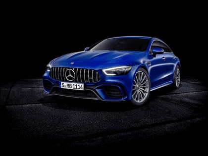 2018 Mercedes-AMG GT 4-door coupé 3