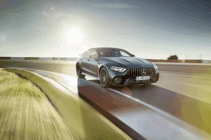 2018 Mercedes-AMG GT 4-door coupé 52