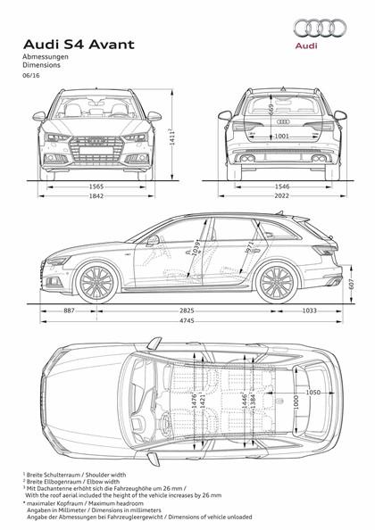 2018 Audi S4 Avant 3.0 TFSI quattro tiptronic 38
