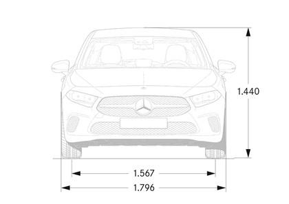 2018 Mercedes-Benz A-klasse 95