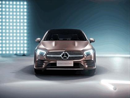 2018 Mercedes-Benz A-klasse L sport sedan 3