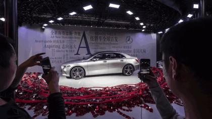 2018 Mercedes-Benz A-klasse L sport sedan 19