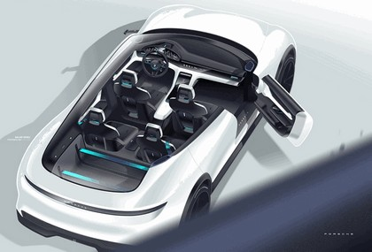2018 Porsche Mission E Cross Turismo concept 14