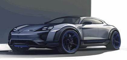2018 Porsche Mission E Cross Turismo concept 21