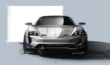 2018 Porsche Mission E Cross Turismo concept 31