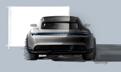 2018 Porsche Mission E Cross Turismo concept 32