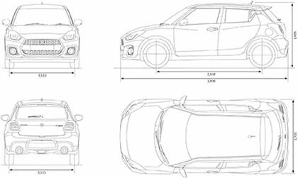 2018 Suzuki Swift sport - UK version 49