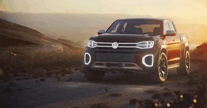 2018 Volkswagen Atlas Tanoak concept 1