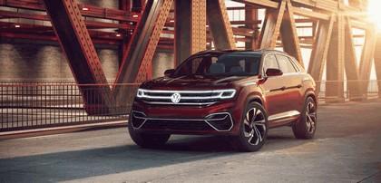 2018 Volkswagen Atlas Cross Sport concept 1