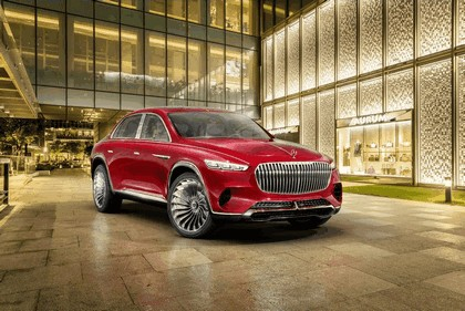 2018 Mercedes-Maybach Ultimate Luxury Vision 23