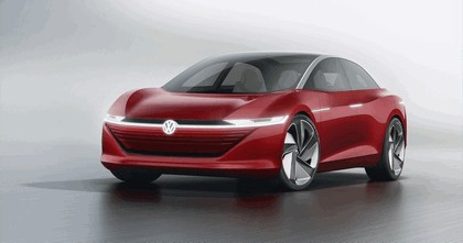 2018 Volkswagen I.D. Vizzion concept 1