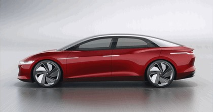 2018 Volkswagen I.D. Vizzion concept 2