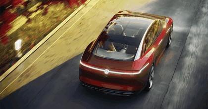 2018 Volkswagen I.D. Vizzion concept 20