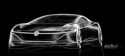 2018 Volkswagen I.D. Vizzion concept 30