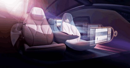 2018 Volkswagen I.D. Vizzion concept 40