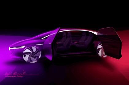 2018 Volkswagen I.D. Vizzion concept 49