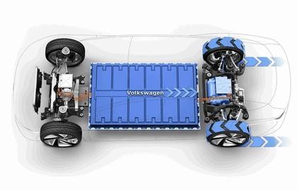 2018 Volkswagen I.D. Vizzion concept 50