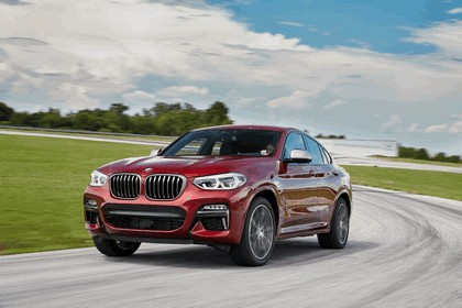 2018 BMW X4 M40d 2