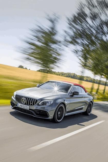 2018 Mercedes-AMG C 63 S cabriolet 20