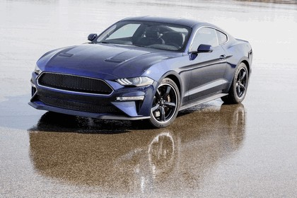 2018 Ford Mustang Bullitt - kona blue edition 4