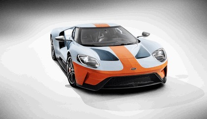 2019 Ford GT Heritage edition 4