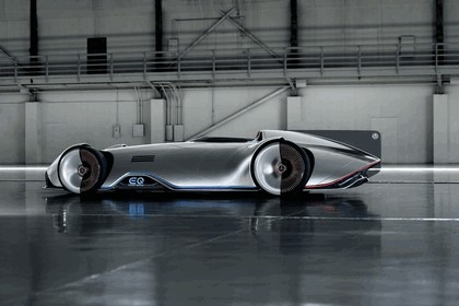 2018 Mercedes-Benz Vision EQ Silver Arrow concept 6