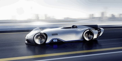 2018 Mercedes-Benz Vision EQ Silver Arrow concept 47
