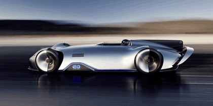 2018 Mercedes-Benz Vision EQ Silver Arrow concept 48