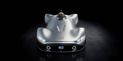 2018 Mercedes-Benz Vision EQ Silver Arrow concept 49