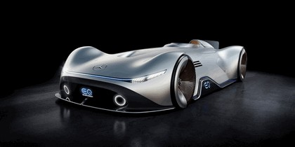 2018 Mercedes-Benz Vision EQ Silver Arrow concept 50