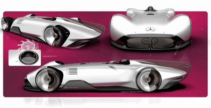2018 Mercedes-Benz Vision EQ Silver Arrow concept 65