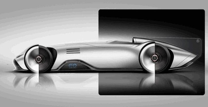 2018 Mercedes-Benz Vision EQ Silver Arrow concept 67