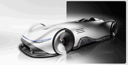 2018 Mercedes-Benz Vision EQ Silver Arrow concept 68